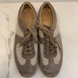 Ermenegildo Zegna Suede Sneakers Size 10.5